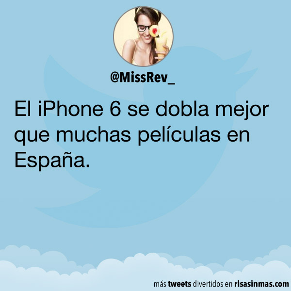 El iPhone 6 se dobla