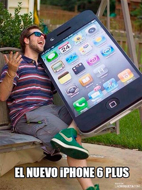 El nuevo iPhone 6 Plus