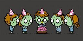 Fiesta de cumpleaños zombie
