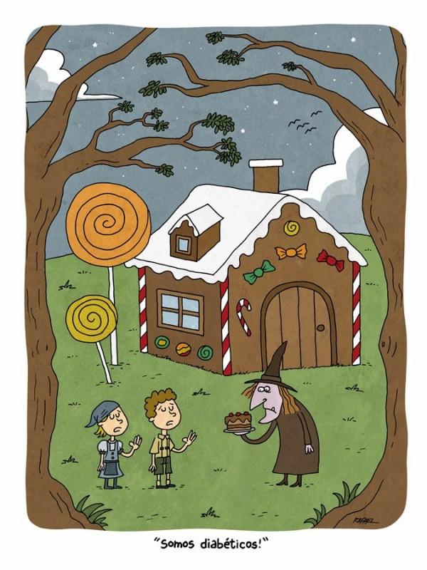 Hansel y Gretel en nuestros días