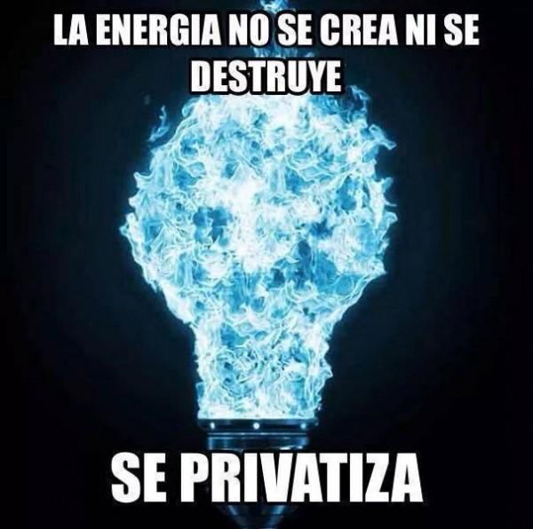 La energía no se crea ni se destruye