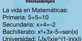La vida en Matemáticas