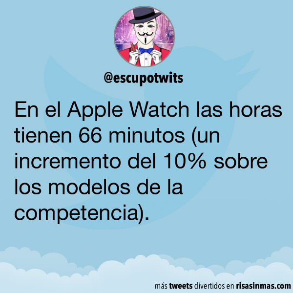 Las horas del Apple Watch