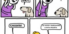 Mi perro sabe hablar