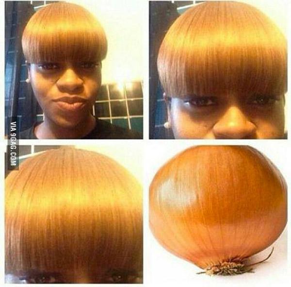 Parecidos razonables: pelo cebolla