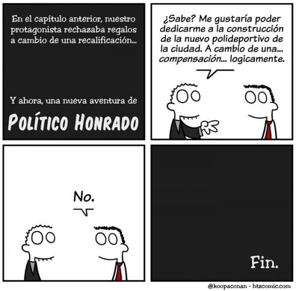 Político honrado
