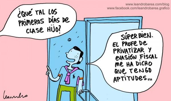 Privatizar y evasión fiscal