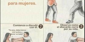 Técnica de defensa personal para mujeres