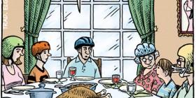 Una comida familiar