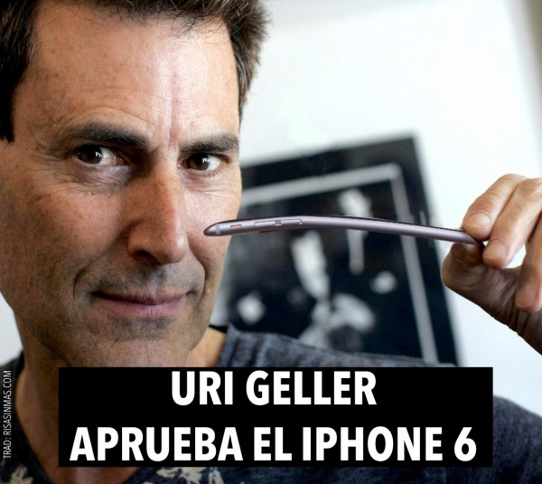 Uri Geller aprueba el iPhone 6