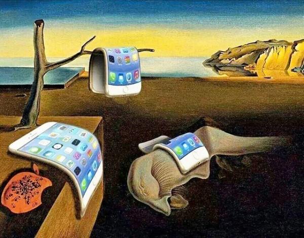 Dalí ya conocía el iPhone 6 plus
