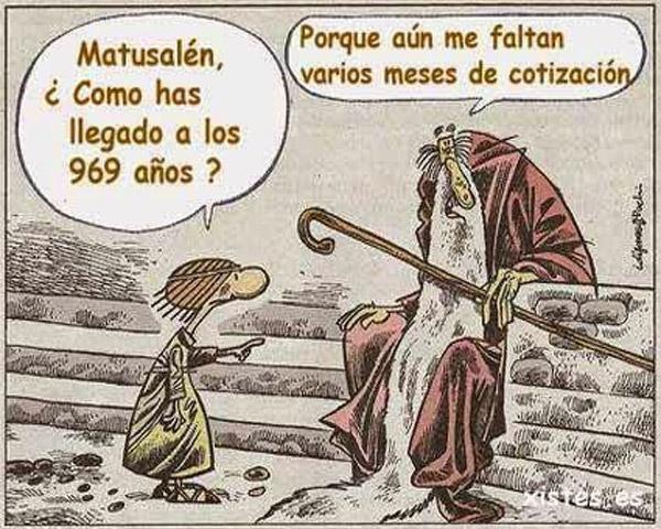 Los 969 años de Matusalén