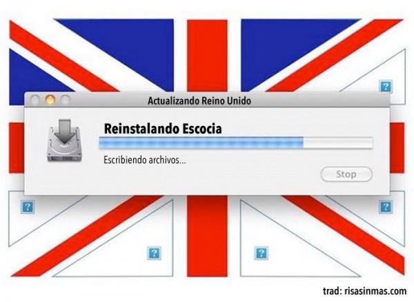 Actualizando Reino Unido