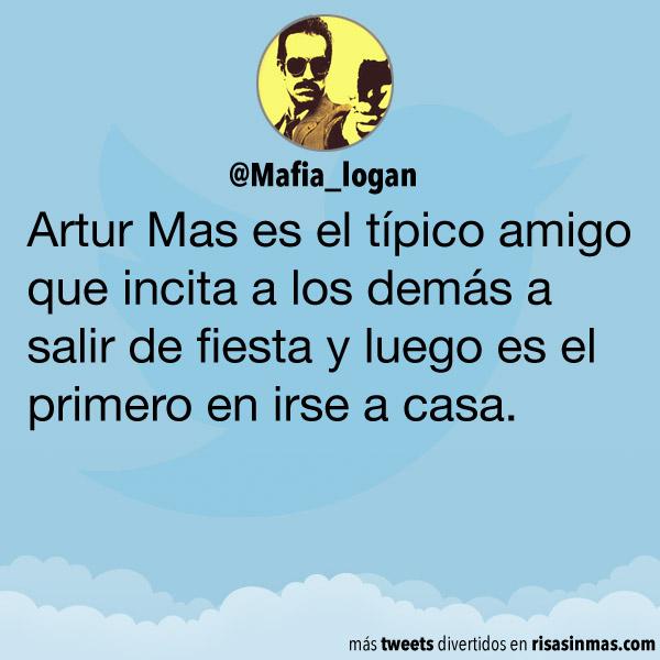 Artur Mas es el típico amigo