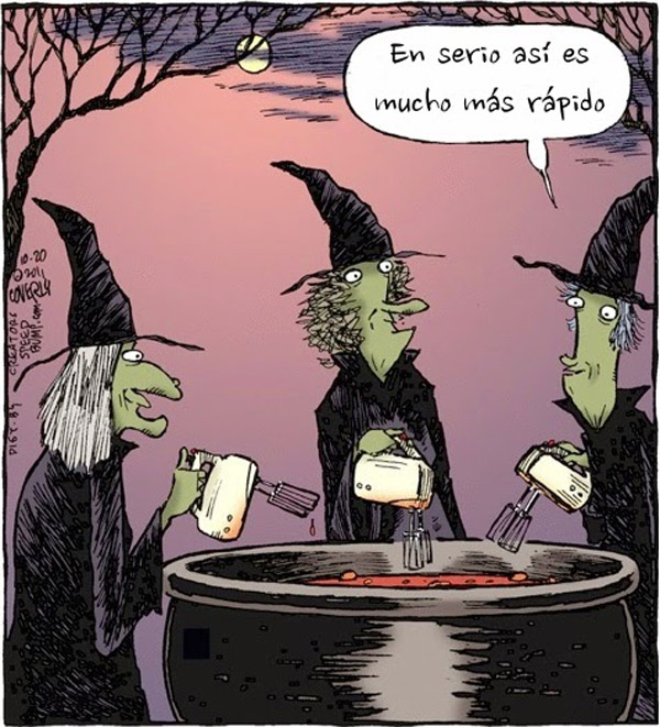 Brujas modernas