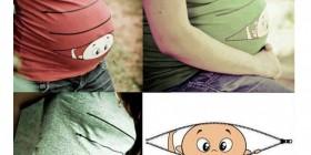 Camisetas divertidas para embarazadas