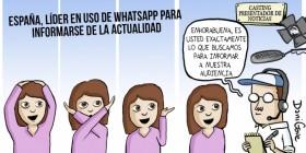 España, líder en uso de WhatsApp
