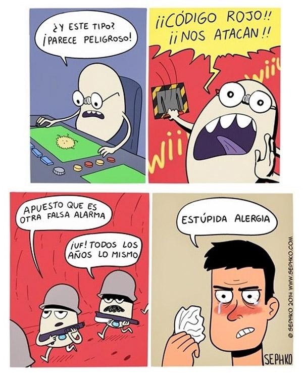 Estúpida alergia