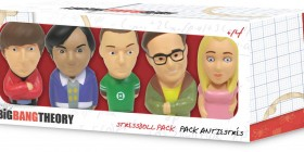 Figuras antiestrés 8 cm. The Big Bang Theory