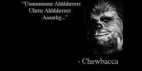 Frase de Chewbacca