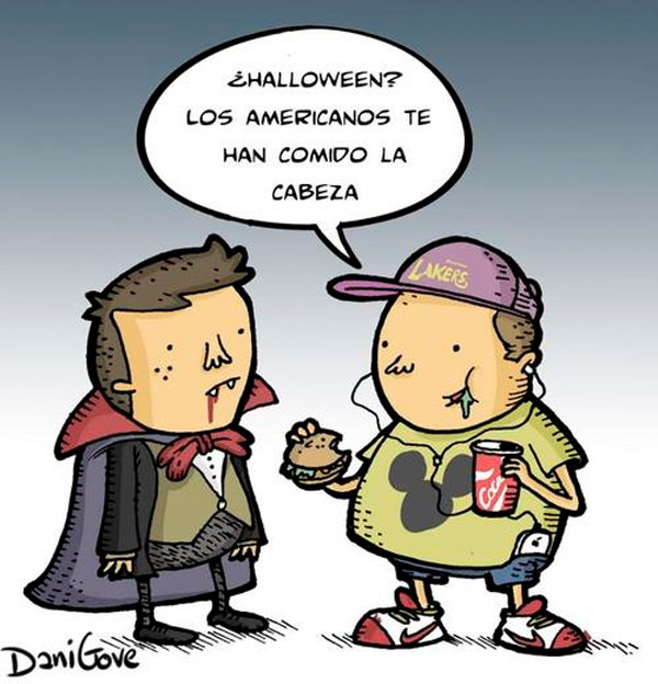 Halloween es de los americanos
