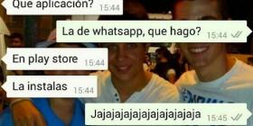 Instalando WhatsApp