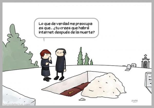 Internet después de la muerte