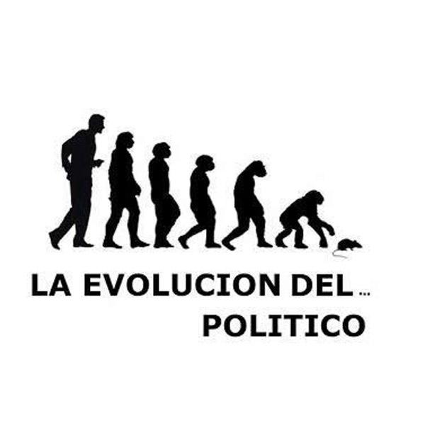 La evolución del político