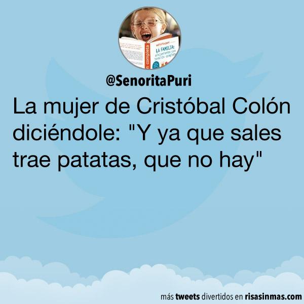 La mujer de Cristóbal Colón