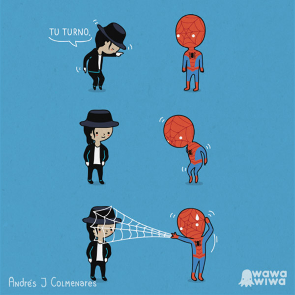 Michael Jackson vs. Spiderman