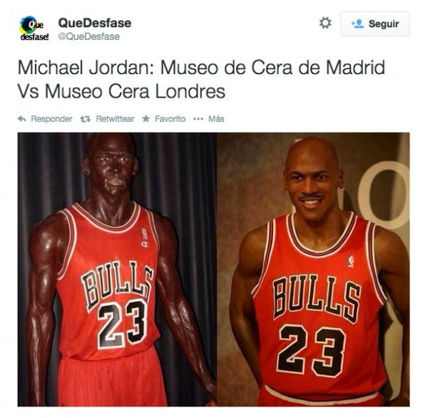 Michael Jordan de cera