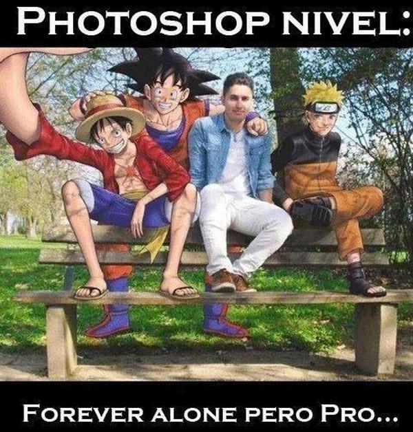 Photoshop nivel Forever alone Pro