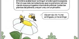Polinizar todas las plantas del planeta