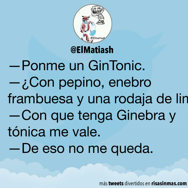 Ponme un GinTonic