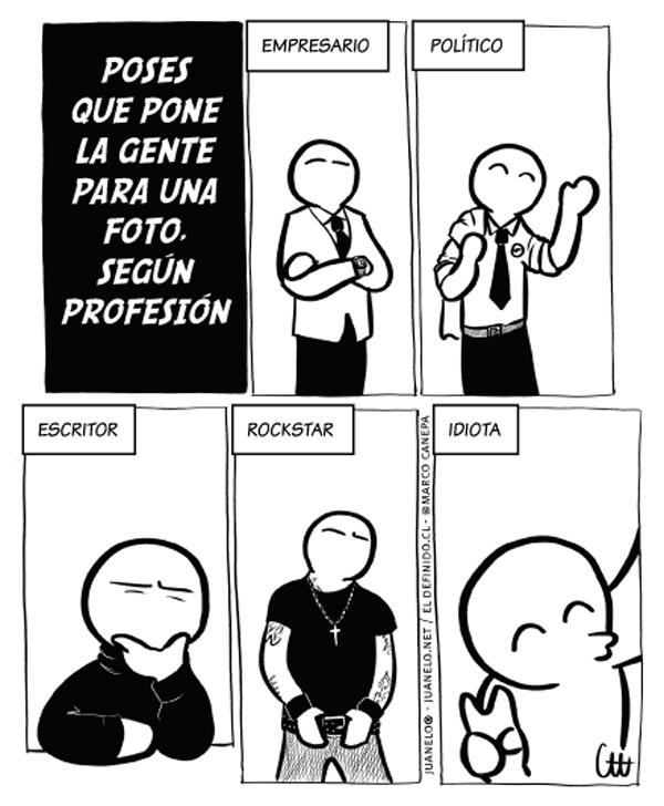 Poses según profesión