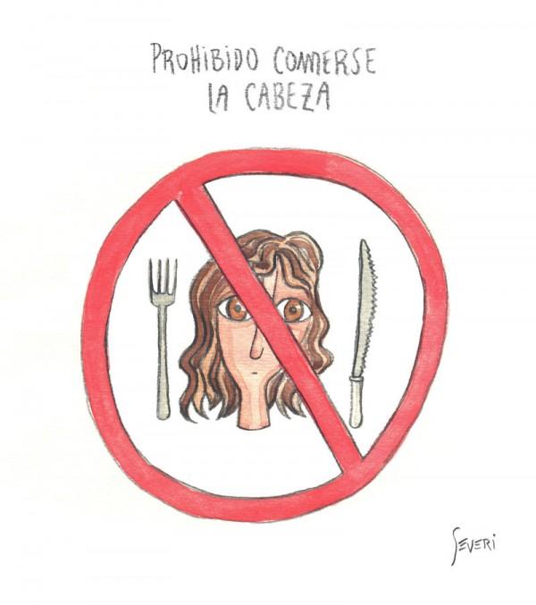 Prohibido comerse la cabeza
