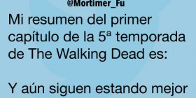 Resumen primer capítulo 5ª temporada de The Walking Dead