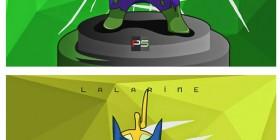 Teletubbies como superhéroes de Marvel