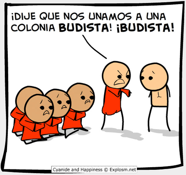 Una colonia budista