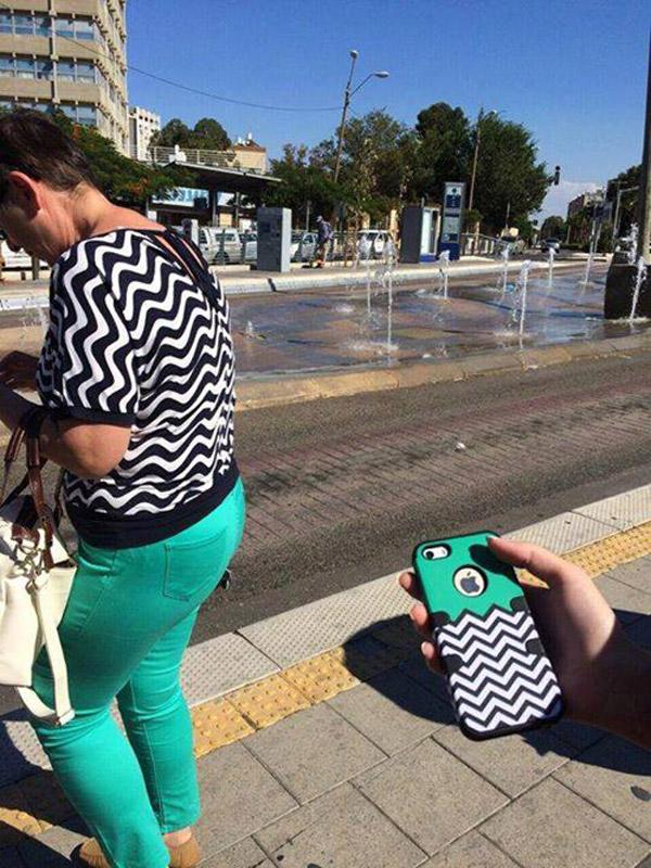 Vestida como la funda de tu iPhone