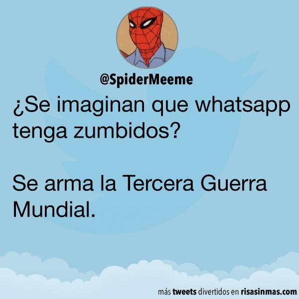 WhatsApp con zumbidos