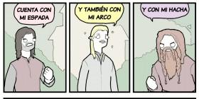 Yo llevaré el anillo a Mordor
