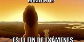Es el fin de exámenes