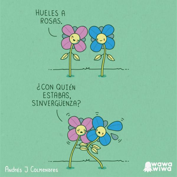 Hueles a rosas