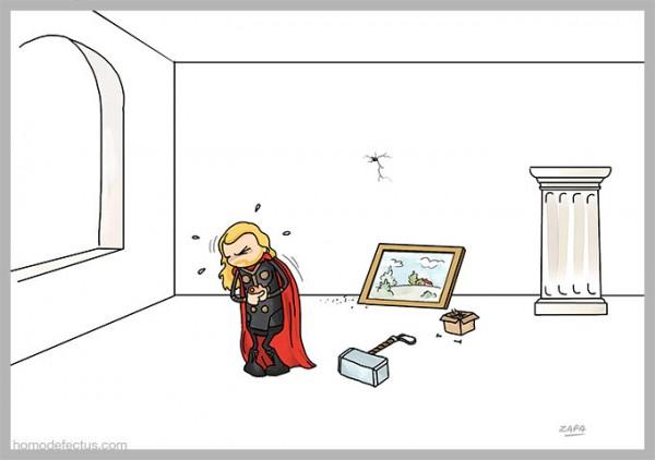 Problemas de superhéroes