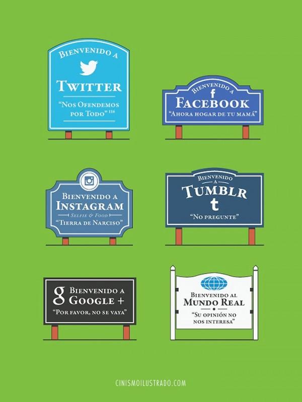 Bienvenida a las Redes Sociales