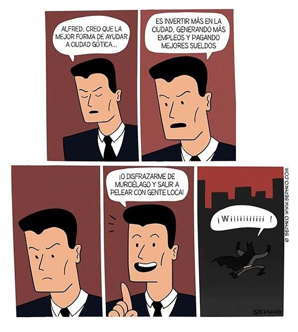 ¿Quiéres saber la verdad sobre Batman?