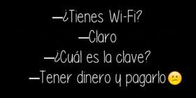La clave del Wi-Fi