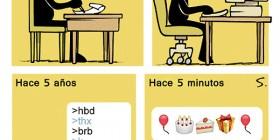 Evolución del Feliz Cumpleaños