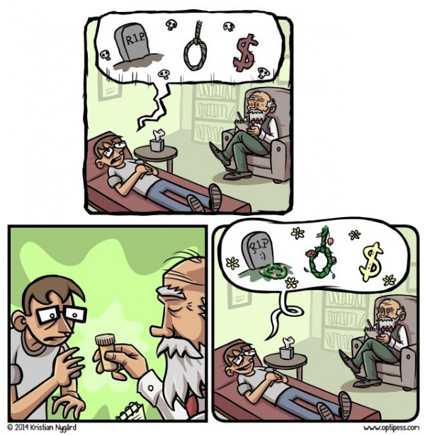La medicación mejora los pensamientos
